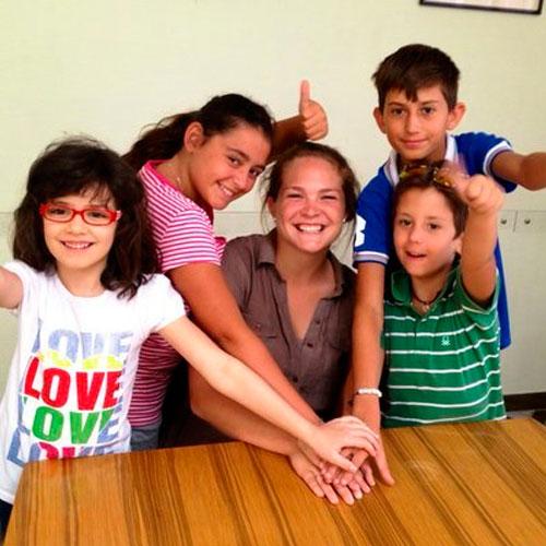 Voluntariado con menores